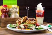 Bareburger-Organic Ice cream| Sandwiches |Patty |Salads