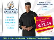 Buy Chef Uniform At Brennans Caterworld